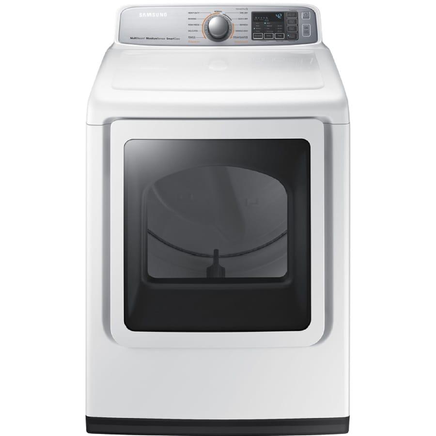 samsung 74cu ft electric dryer white