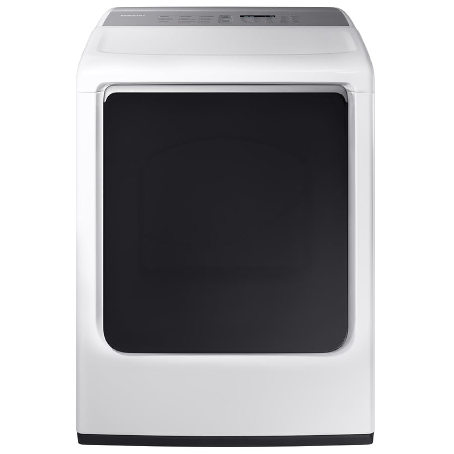 Samsung 7.4-cu ft Gas Dryer (White) ENERGY STAR