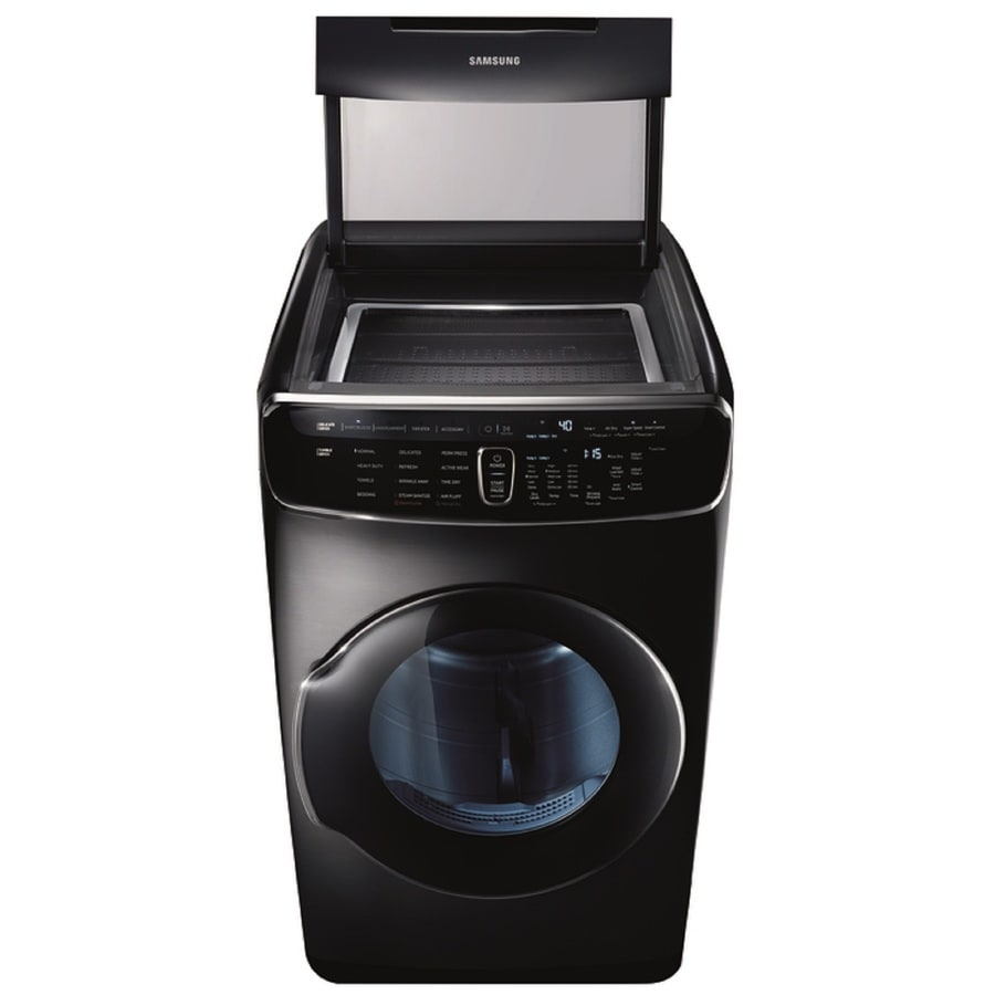 Uncategorized Appliance Stores Kitchener shop dryers at lowes com samsung flexdry 7 5 cu ft electric dryer black stainless steel