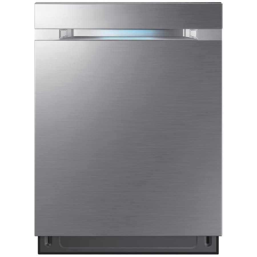 Shop Samsung 55 Decibel Built In Dishwasher Stainless: Samsung Waterwall 42-Decibel Built-in Dishwasher