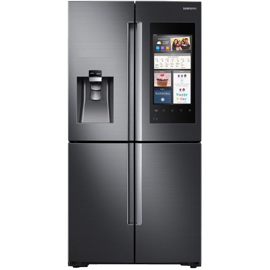 Samsung 4 Door Flex With Family Hub 22 Cu Ft 4 Door Counter