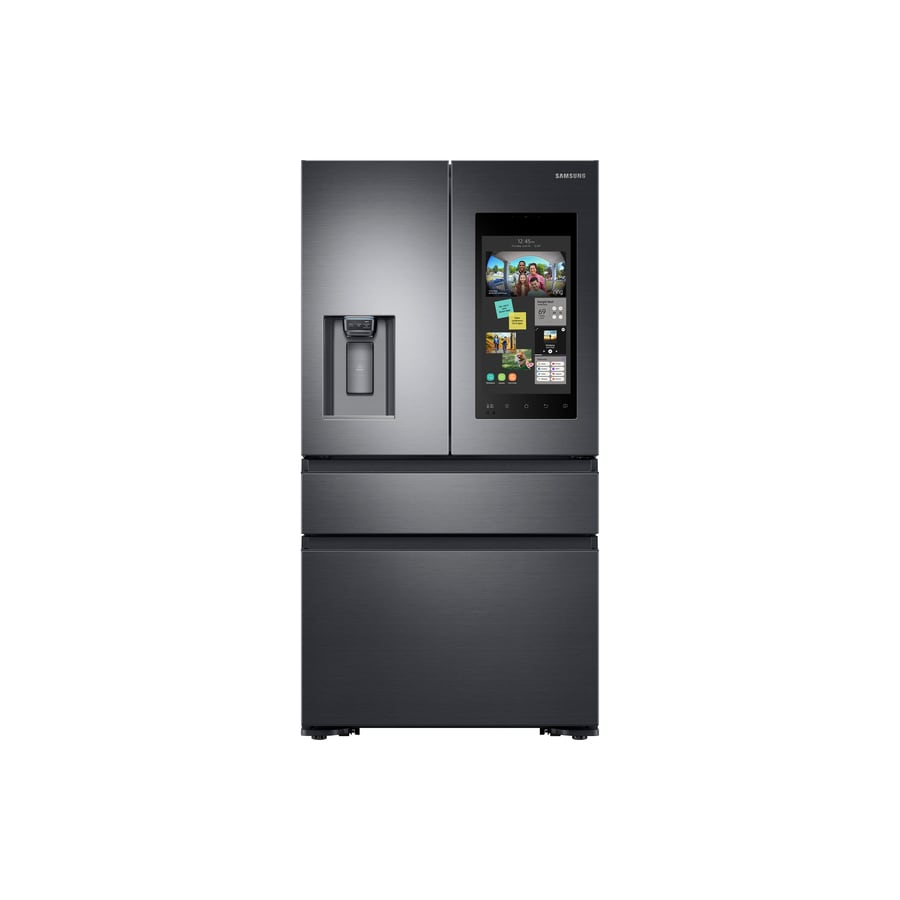 Shop Samsung Family Hub 22 2 Cu Ft 4 Door Counter Depth