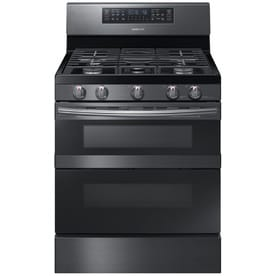 a30d0908d Samsung Flex Duo 5-Burner   2.3-cu ft Self-cleaning Double Oven