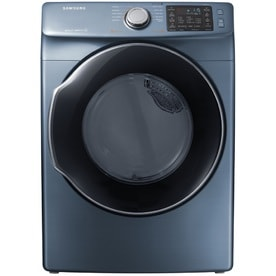 Samsung 7.5-cu ft Stackable Electric Dryer (Azure Blue) ENERGY STAR