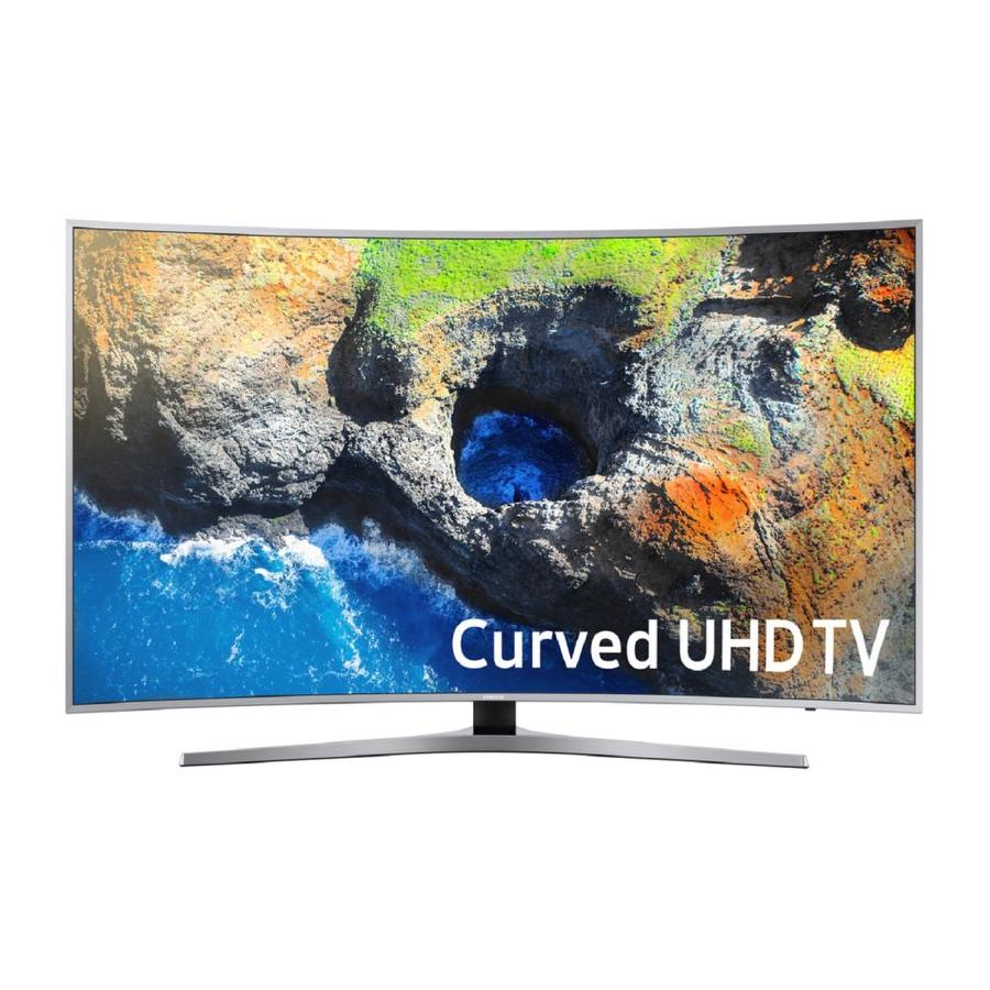 shop samsung mu7500 curved 4k uhd tv common 55 in actual 54 6 in led curved screen ultra. Black Bedroom Furniture Sets. Home Design Ideas