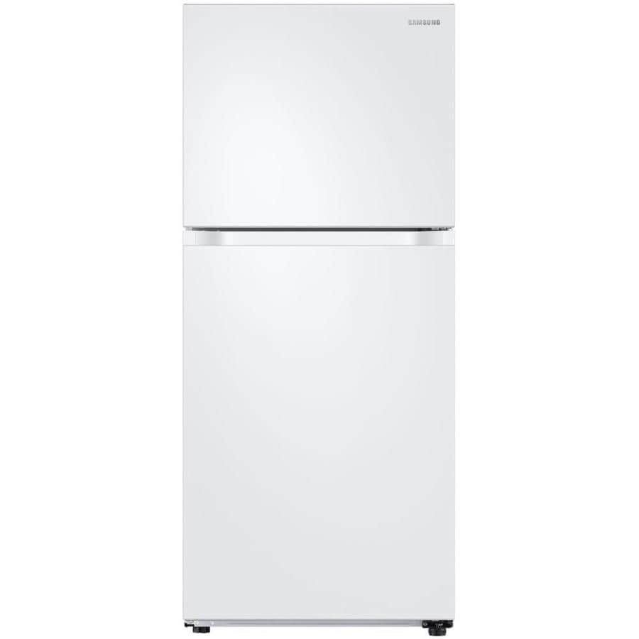 Samsung 17.6-cu ft Top-Freezer Refrigerator (White) ENERGY STAR