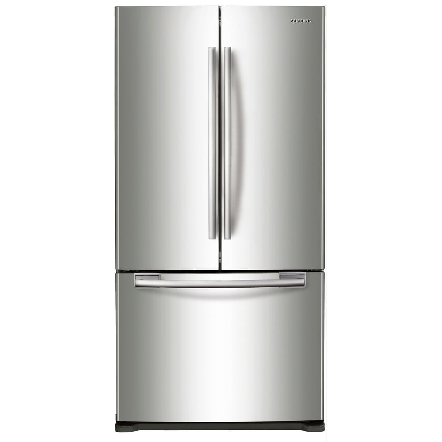 Best Counter Depth Refrigerator 2015 >> Samsung 17 5 Cu Ft Counter Depth French Door Refrigerator With Ice