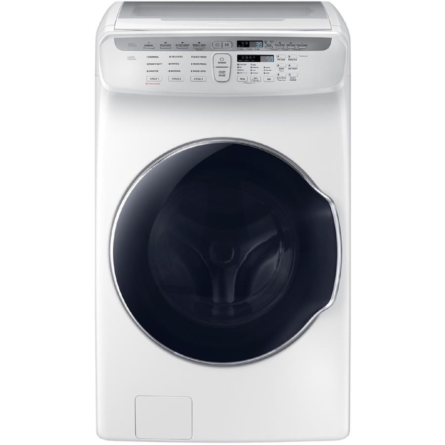 samsung washer and dryer lowes. Samsung FlexWash 4.5 + 1.0-cu Ft High-Efficiency Front-Load Washer ( And Dryer Lowes T