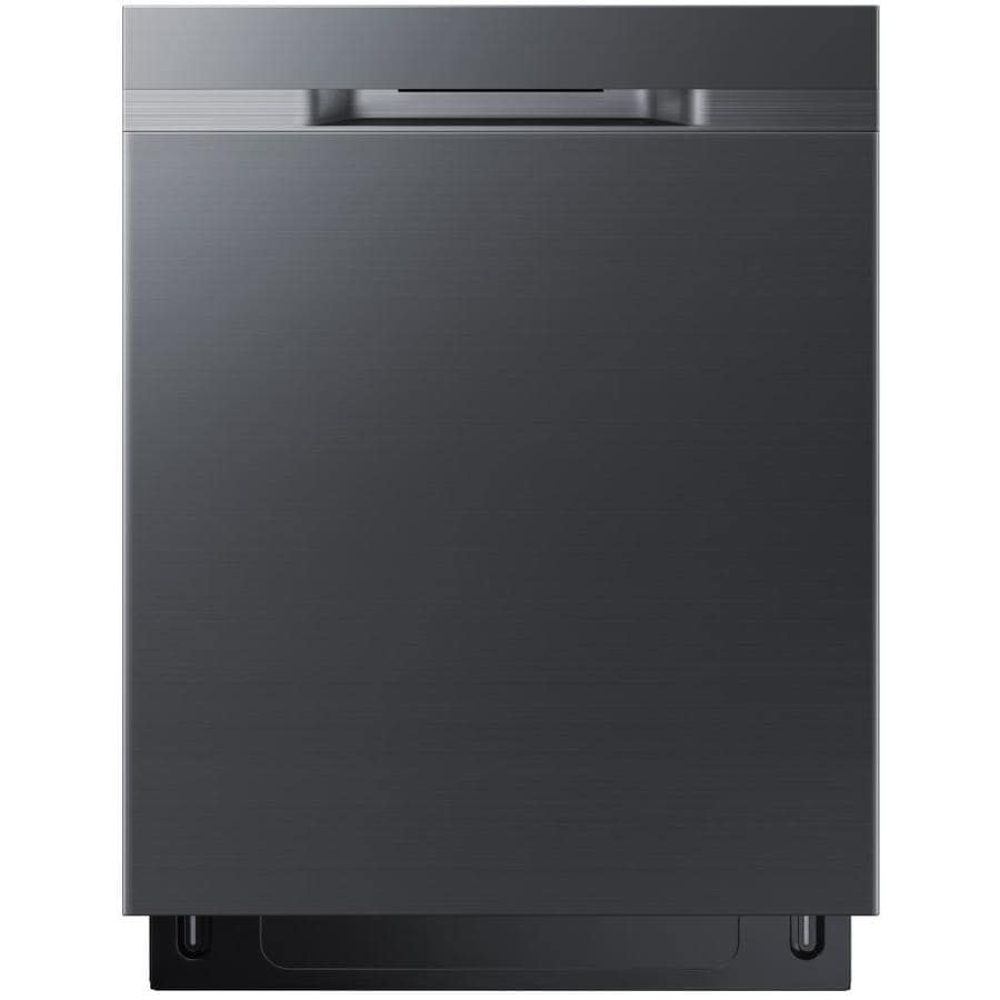 Samsung 48-Decibel Built-In Dishwasher (Black Stainless Steel) (Common: 24-in; Actual: 23.875-in) ENERGY STAR
