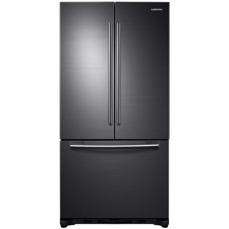 Shop samsung 17 5 cu ft counter depth french door for 17 cu ft french door refrigerator