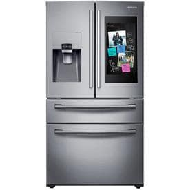 Attrayant Samsung Family Hub Family Hub 27.7 Cu Ft 4 Door French Door Refrigerator  With