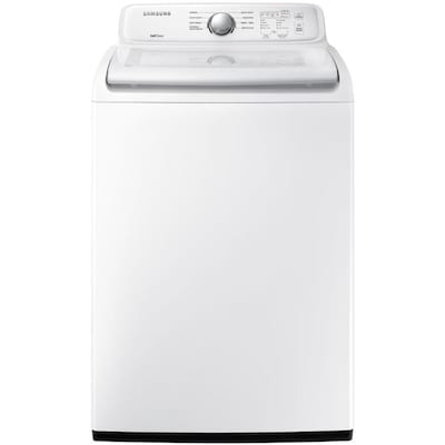 Samsung 4 5-cu ft Top-Load Washer (White) at Lowes com