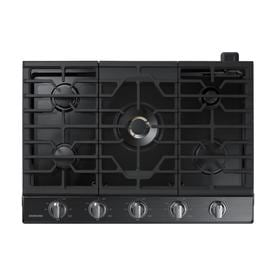 Samsung 30 In 5 Burner Black Stainless Steel Gas Cooktop Common