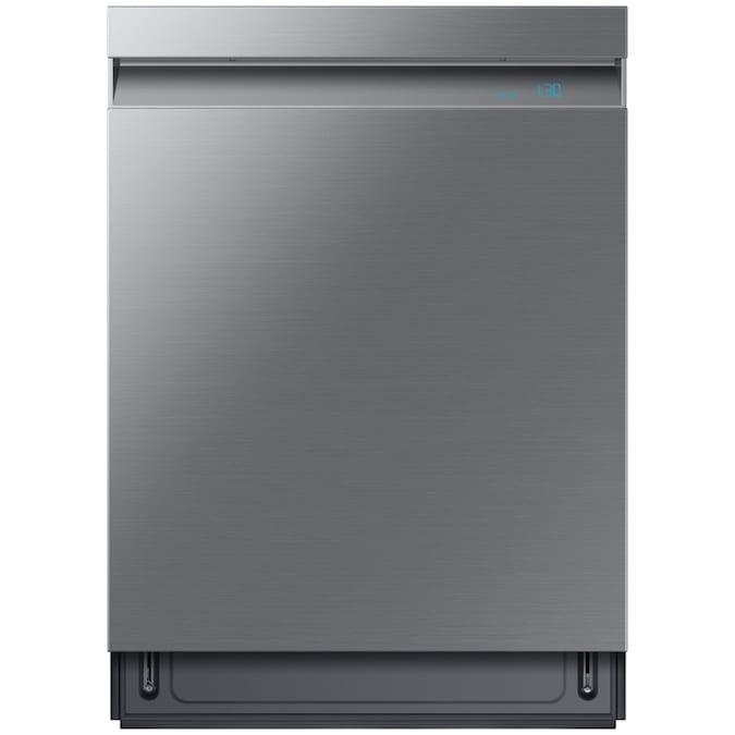 Samsung Linear Wash 39-Decibel Top Control 24-in Built-In Dishwasher (Fingerprint Resistant Stainless Steel) ENERGY STAR