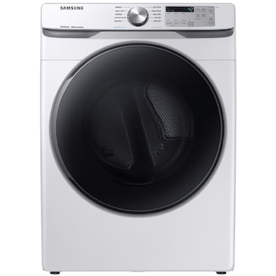 Samsung 7 5 Cu Ft Stackable Electric Dryer White At