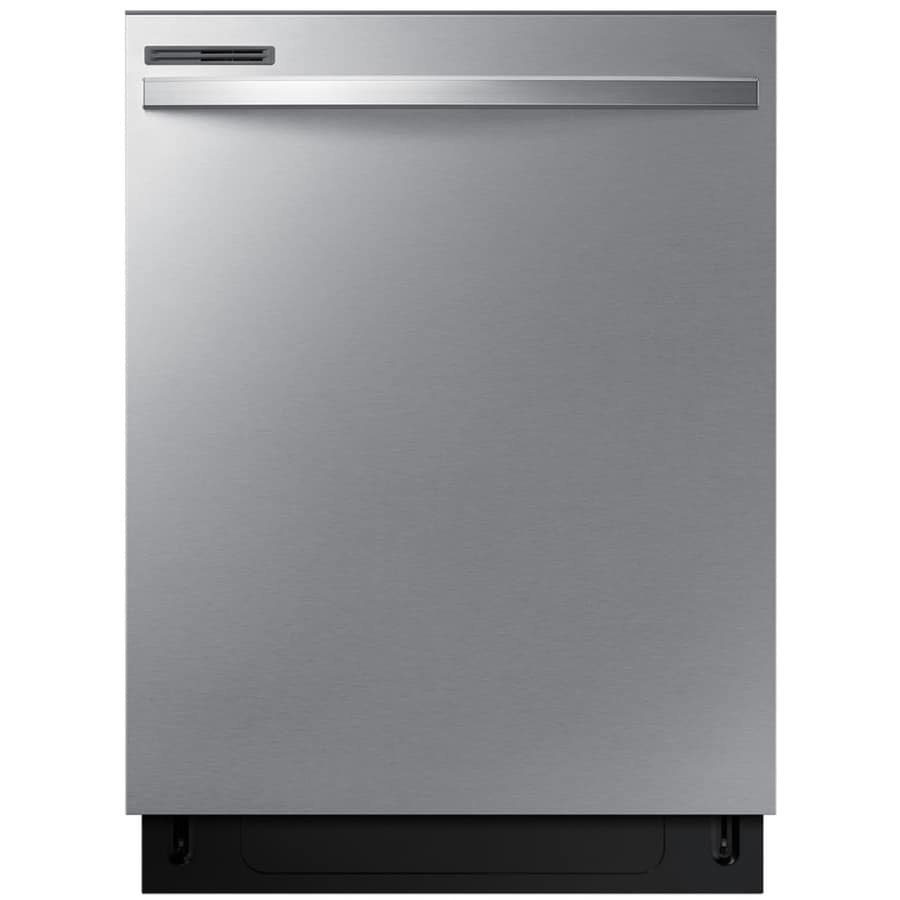 Samsung 55-Decibel Built-In Dishwasher (Stainless Steel) (Common: 24 Inch; Actual: 23.75-in) ENERGY STAR