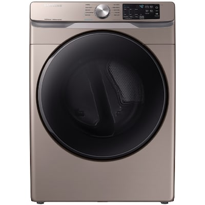 Samsung 7 5-cu ft Stackable Gas Dryer (Champagne) at Lowes com