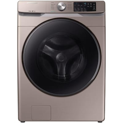 4 5-cu ft High Efficiency Stackable Front-Load Washer (Champagne) ENERGY  STAR