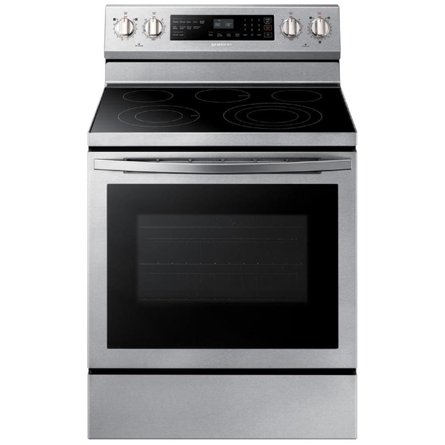 Samsung Electric Range Ne59r6631ss At Lowes Com