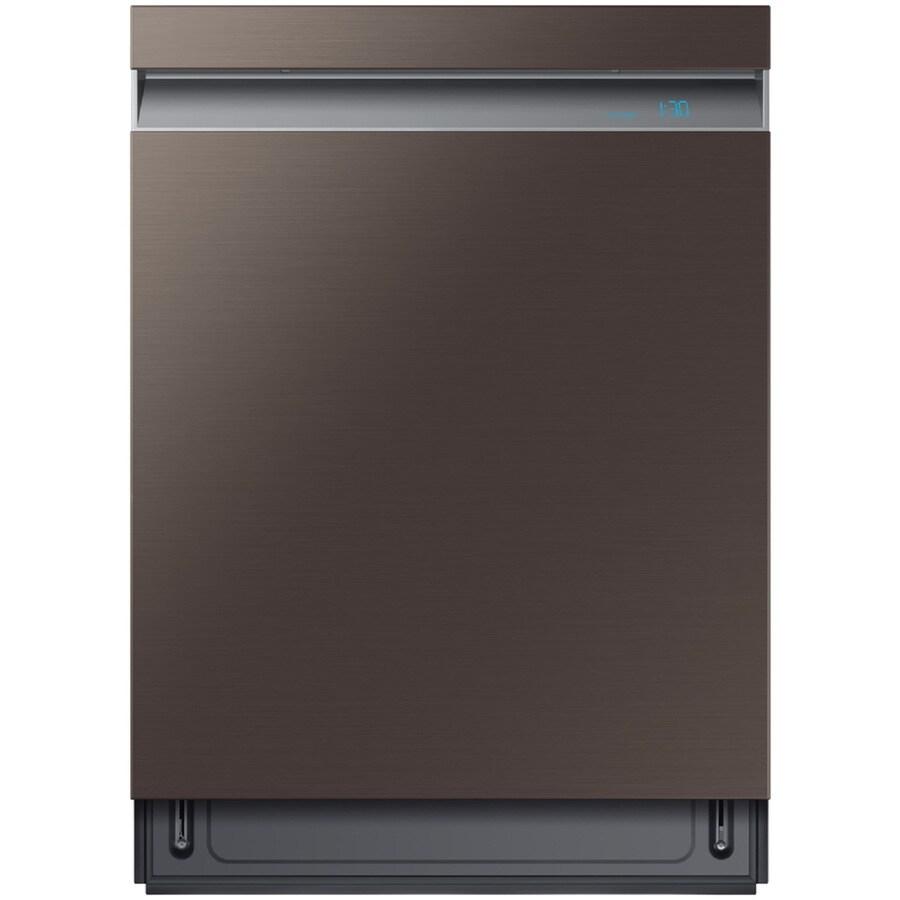 Shop Samsung 55 Decibel Built In Dishwasher Stainless: Samsung Linear Wash 39-Decibel Built-in Dishwasher