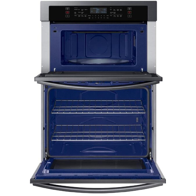 Samsung Self Cleaning And Steam Cleaning Microwave Wall