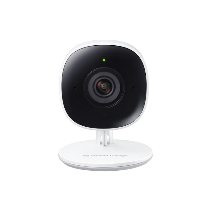 Samsung SmartThings Plug-in Wired Smart Indoor Security Camera 17.99