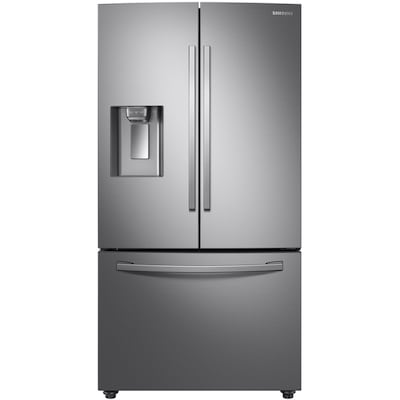 Samsung 28 Cu Ft French Door Refrigerator With Dual Ice Maker (Fingerprint Resistant Stainless Steel) Energy Star by Lowe's
