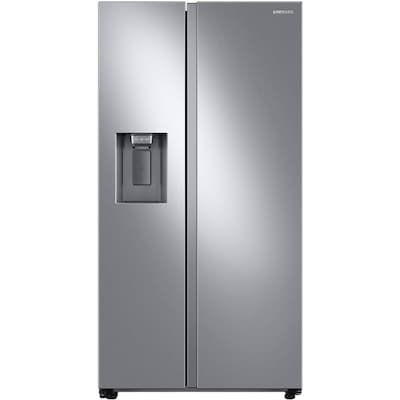 Samsung 27.4-cu ft Side-by-Side Refrigerator with Ice Maker (Fingerprint-Resistant Stainless Steel)