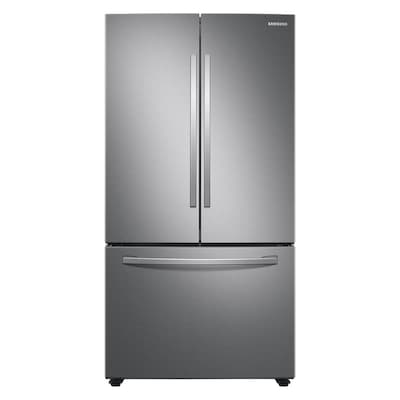 Samsung 28.2-cu ft French Door Refrigerator with Ice Maker (Fingerprint-Resistant Stainless Steel) ENERGY STAR