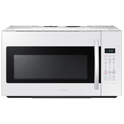 1 8 Cu Ft Over The Range Microwave With Sensor Cooking White