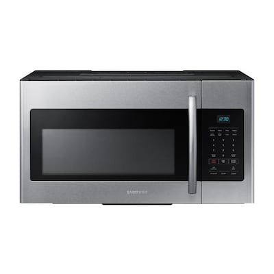 1 6 Cu Ft Over The Range Microwave Fingerprint Resistant Stainless Steel