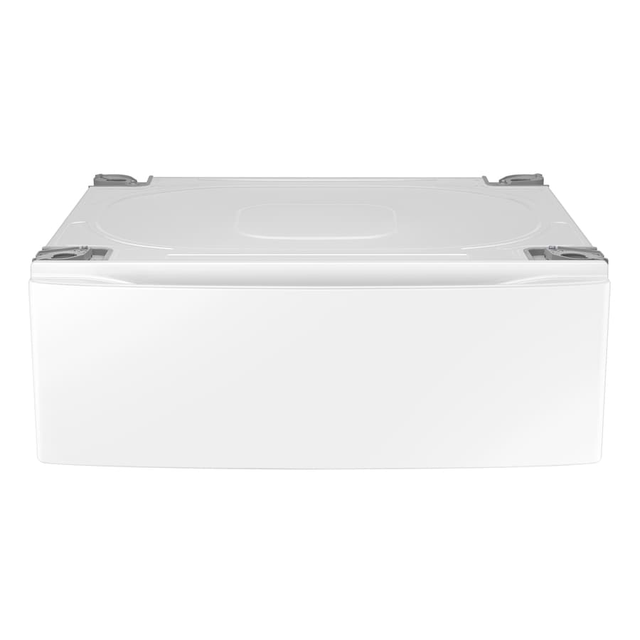 Samsung 11.8-in x 30-in White Laundry Pedestal with Storage Drawer