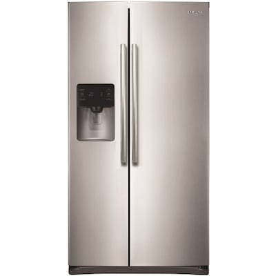 Samsung 24 5-cu ft Side-by-Side Refrigerator with Ice Maker