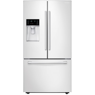 Samsung 28 07-cu ft French Door Refrigerator with Dual Ice