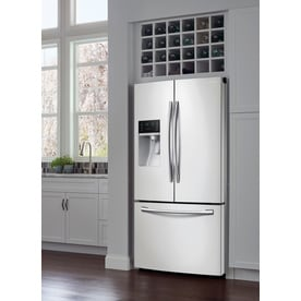 Shop Samsung 28 07 Cu Ft French Door Refrigerator With