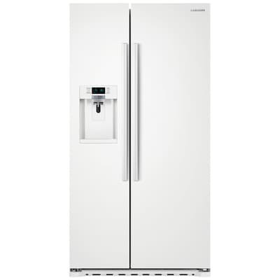 Samsung 22 3-cu ft Counter-depth Side-by-Side Refrigerator