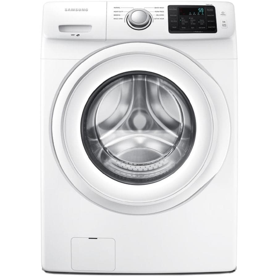 samsung washer and dryer lowes. Samsung 4.2-cu Ft High-Efficiency Stackable Front-Load Washer (White) And Dryer Lowes M