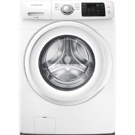 Samsung 4.2-cu ft High Efficiency Stackable Front-Load Washer (White) ENERGY STAR