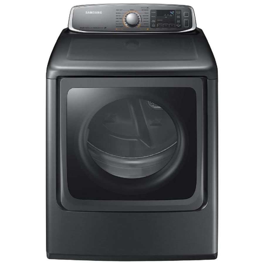 Samsung 9.5-cu ft Gas Dryer with Steam Cycles (Platinum)