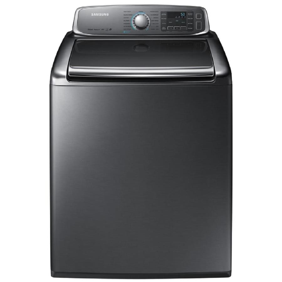 Samsung 5.6-cu ft High-Efficiency Top-Load Washer (Platinum) ENERGY STAR