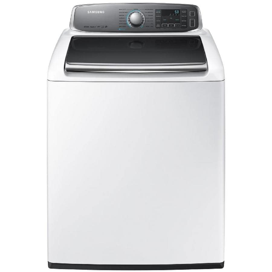 Samsung 5.6-cu ft High-Efficiency Top-Load Washer (White) ENERGY STAR