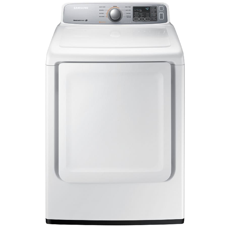 Samsung 7 4 Cu Ft Electric Dryer White