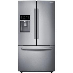 Samsung 22-cu ft Counter-depth French Door Refrigerator with Ice Maker (Stainless Steel Stainless Steel) ENERGY STAR