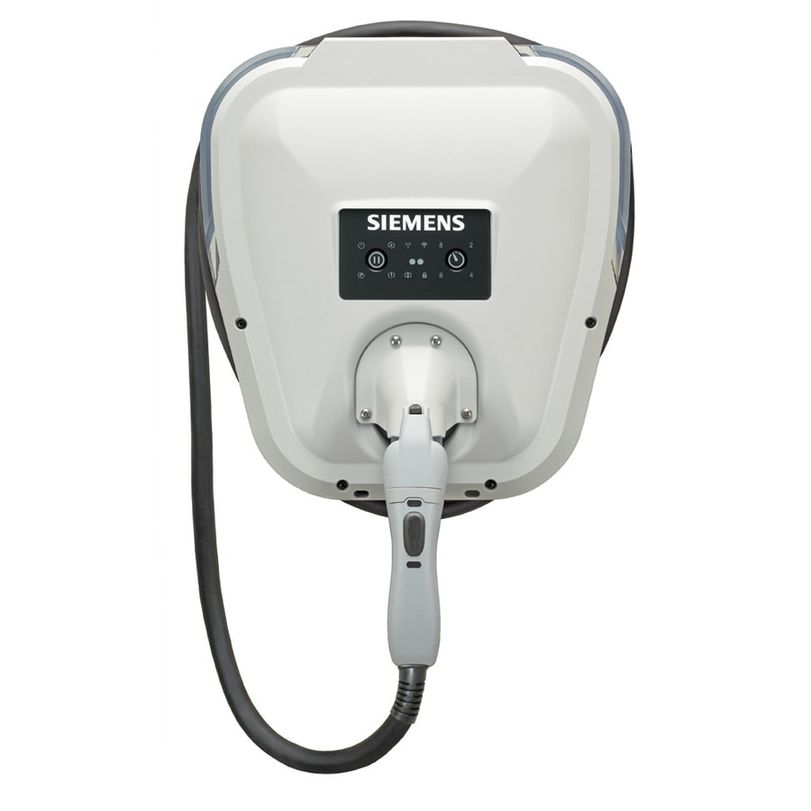 Siemens Versicharge Level 2 30 Amp Wall Mounted Single Electric Car Charger