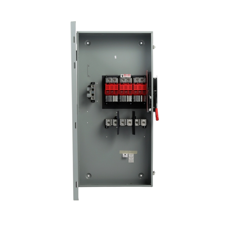 Siemens 400-Amp Fusible Metallic Safety Switch