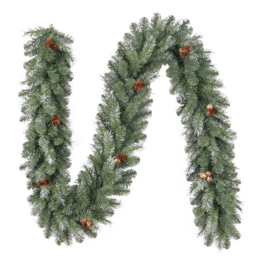 Holiday Living 10-in x 9-ft Indoor/Outdoor Madison Pine Artificial Christmas Garland
