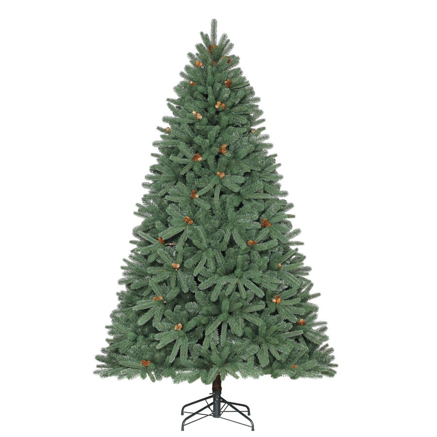 Holiday Living 7.5-ft Unlit Fleetwood Pine Artificial ...