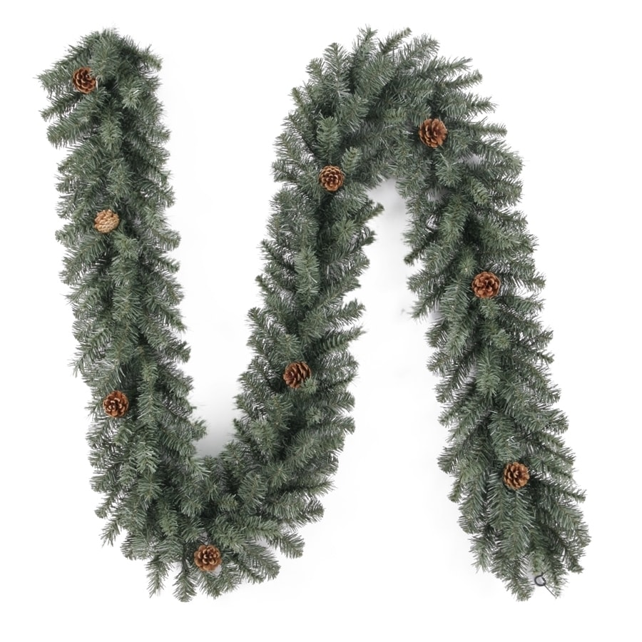 Holiday Living Indoor/Outdoor 9-ft L Scottsdale Pine Garland