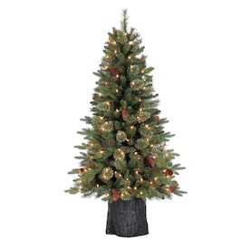 Holiday Living Christmas Tree.Holiday Living 4 5 Ft Pre Lit Hayden Pine Artificial