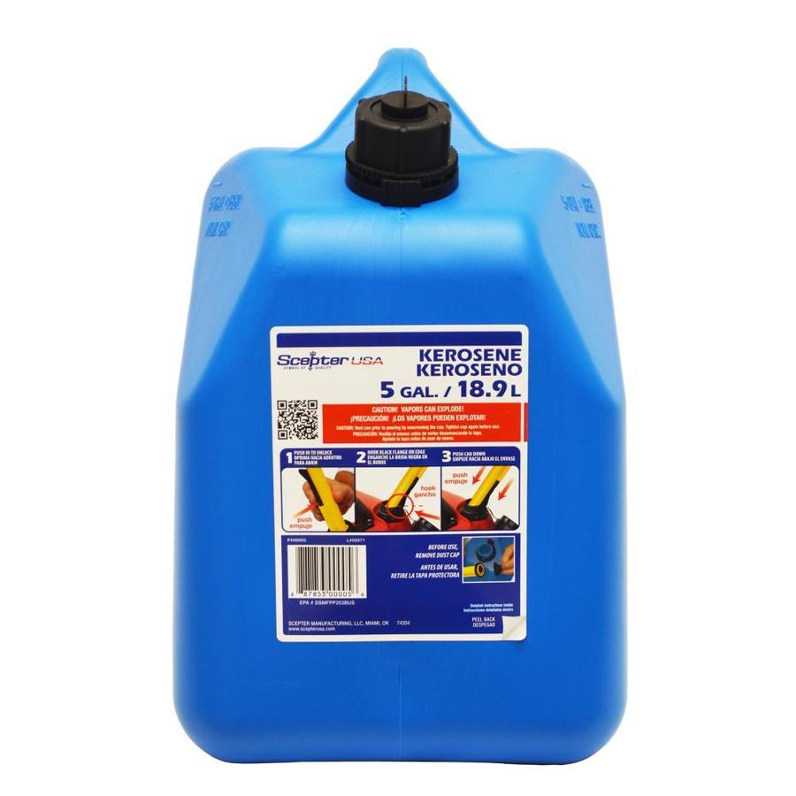 5-Gallon Plastic Kerosene Can